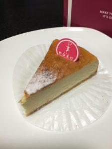 プーゾのプレミアムチーズケーキ