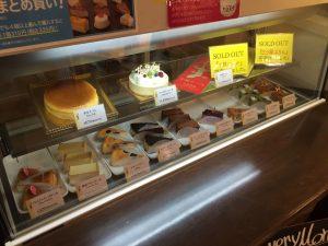 プーゾ沖縄のケーキラインナップ